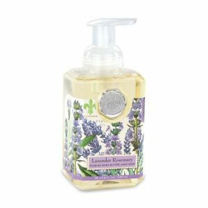 Michele Design Works Lavender Rosemary foaming shea butter hand soap