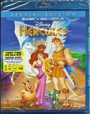 Disney Hercules Special Edition Blu-ray + DVD + Digital HD BRAND NEW