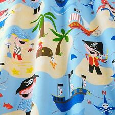 iLiv Pirates Life For Me Designer Curtain Upholstery 100% Cotton Fabric