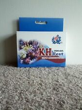 CARBONATE HARDNESS KH TEST KIT FOR SALT AND FRESH WATER AQUARIUMS