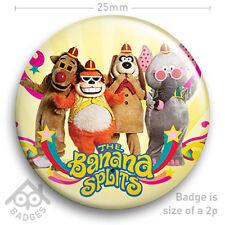 "THE BANANA SPLITS 2 -  RETRO TV Badge BBC Children's TV -  25mm 1"" Badge"