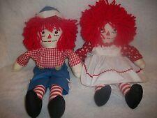 Raggedy Ann & Andy Plush Dolls