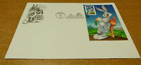 #3138c Bugs Bunny imperforate artcraft FDC Burbank CA May 22 1997