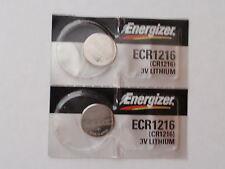 Fast--2-Fresh-Lithium Energizer Battery-3V-cr1216 -DL1216-280- Fast Shipping