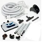 Central Vacuum 30 Foot Hose Kit With Power Head For NUTONE BEAM ELECTROLUX