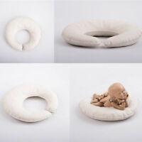 C Shape Baby Newborn Photography Props Pillows Posing Pod Basket Filler Studio