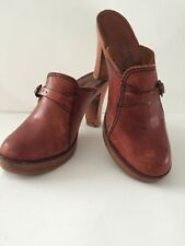 Vintage Woodworks Clogs By Thom Mcan Size 6