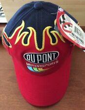 2001 Vintage Jeff Gordon Flames Hat Dupont Chase Authentics