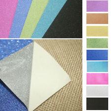 10PC DIY Adhesive Glitter Scrapbooking Paper Vinyl Sticker Art Sheets Craft Tool
