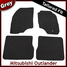 Mitsubishi Outlander Tailored Fitted Carpet Car Mats GREY (2004 2005 2006 2007)