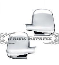 2003-2012 Chevy Express/GMC Savana Van 3Dr Chrome Door Mirror Full Covers Pair