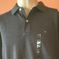Tommy Hilfiger Charcoal Gray Short Sleeve Polo Mens XL X-Large New With Tags