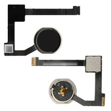 Per Apple iPad Air 2 Casa Pulsante Key + Flex Cavo Assembly Nero A1566 A1567