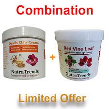 Devils Claw Cream Plus Red Vine Leaf Cream Strong Combination 250ml per Cream