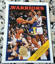 MITCH RICHMOND Topps #1 Draft Pick GOLD SP Rookie Card 1988 1993 Warriors Lakers