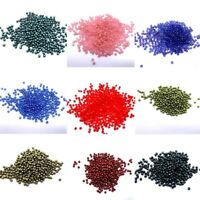 X100 Czech Glass Beads Fire Polished 2mm Jewellery Making Round 70 COLOURS