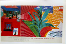 David Hockney Mini- Poster Reprint No 3  for Metropolitan Museum of Art Exhibit