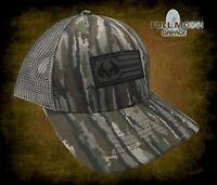 New Realtree 3D Patch Camo Mens Snapback Trucker Cap Hat
