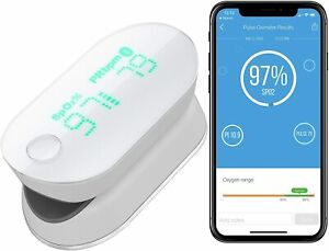 iHealth Air Wireless Fingertip Pulse Oximeter with Plethysmograph and...