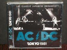AC/DC - Tokyo 1981 CD SEALED