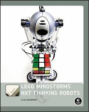 LEGO MINDSTORMS NXT Thinking Robots: Build a Rubik's Cube Solver and a-ExLibrary