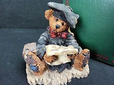 Rare Boyds Bears & Friends Cook Hunting Graduation Figurine 20E-3555 Bearstone