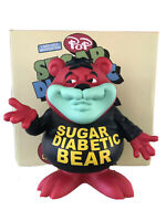 Sugar Diabetic Bear Cereal Killers Ron English 8in LIMITED EDITION /100 SIGNED