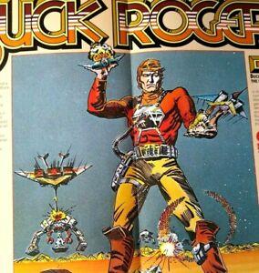 Buck Rogers Planet Of Zoom Arcade Flyer Sega Original 1982 Video Game Brochure
