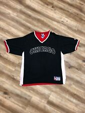 CHICAGO BULLS NBA BASKETBALL VINTAGE 90s CHAMPION SHOOTING SHIRT JERSEY XL