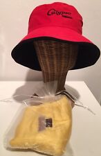 Hat red black bucket cotton scarf fabric 100% cashmere yellow craft buy 1 get 3