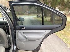 2003 MK4 VW Jetta Right Rear Door Panel Gray OEM