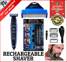 MicroTouch Micro Touch SOLO Rechargeable Trims Razor Shaver Edges As Seen On TV