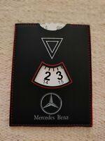 Parkscheibe Mercedes Benz A B C E S SLK CLK CLS 200 230 250 280 500 560 600 SEC
