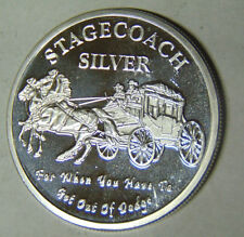 Stagecoach Silver For When You Have To Get Out of Dodge .999 Fine 1 oz (1-1218)