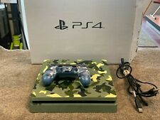 New listing PlayStation 4 Ps4 Slim 1Tb Video Game Console - Cod Wwii Camo Limited Edition