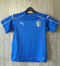 Italy National Team Puma Football Shirt Soccer Jersey Maglia Camiseta YOUTH Sz M