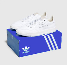Mens Adidas SC Premiere Genuine leather with the box and tags BD7583 white 9-12
