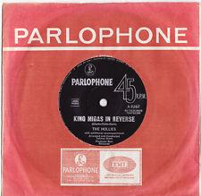 THE HOLLIES - KING MIDAS IN REVERSE  Very rare 1967 Aussie PSYCH/POP Single! EX-