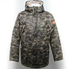 THREE STROKE BALDUR TS030 JACKET COL CAMO PARKA CASUAL STYLE FOR WINTER MODERNIS