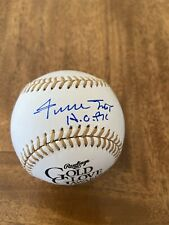 WILLIE MAYS SIGNED AUTOGRAPHED  with HOF OFFICIAL MAJOR LEAGUE BASEBALL