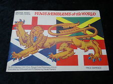 Brooke Bond - 1967 - Flags & Emblems of the World - Full Set of Cards & Album