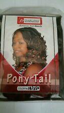 Darling Kenya PonyTail Hair Braid Extensions # 1b/350 Off Black/Ginger