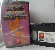 He-Man and the Masters Of the Universe vol. 2 - Happy Birthday Roboto VHS Video