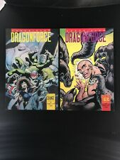 Dragonforce Chronicles #1 & 2 (Mar-Apr 1989, Aircel Publishing) - Barry Blair