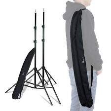 2 Pack Lusana Studio 7' Tripod Photography Light Stands for Video Portrait