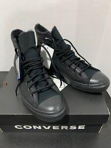 NIB-Converse Winter GORE-TEX Chuck Taylor All Star GTX Black,  Sz-12