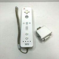 Official Nintendo Wii MOTION PLUS ADAPTER WiiU Remote Controller White RVL003 L2