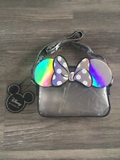 DISNEY MINNIE MOUSE SMALL CLEAR / SILVER BAG BRAND NEW WITH TAGS