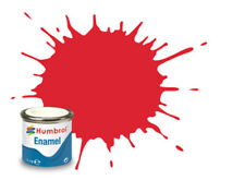 Humbrol Enamel Model Paint 14ml Gloss Metallic Satin Matt All Colours & Shades