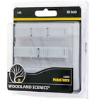 Woodland Scenics A2984 Picket Fence - HO Scale